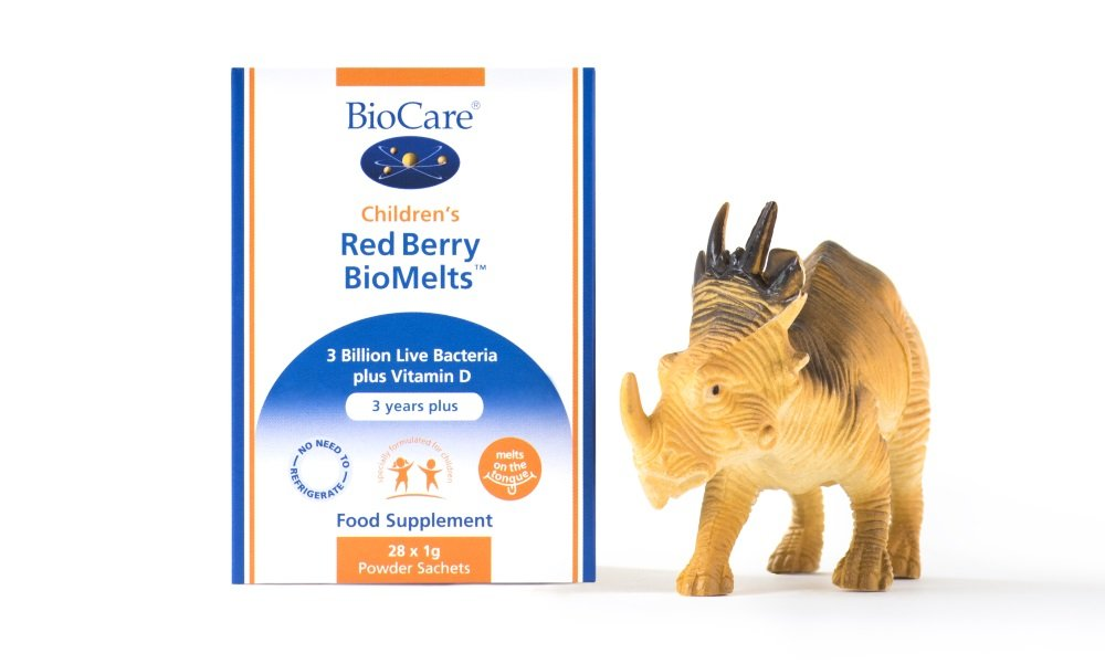 Introducing New Children's Red Berry BioMelts