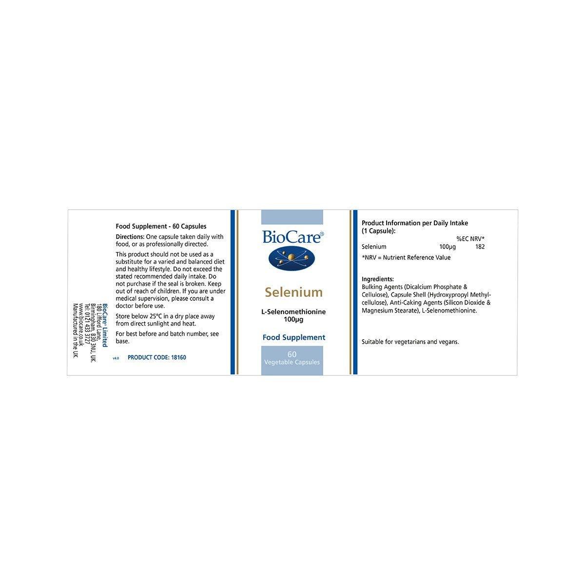 Selenium - www biocare co uk