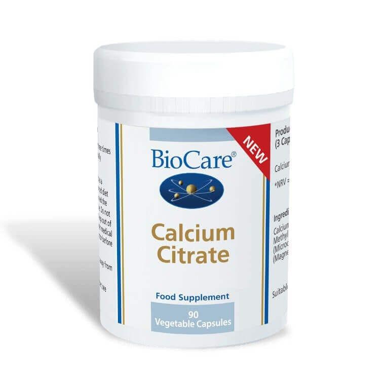 Calcium Citrate - 90 Capsules