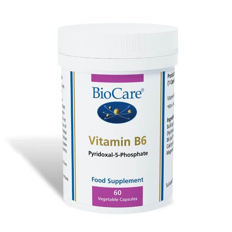 Vitamin B6 60 Veg Capsules