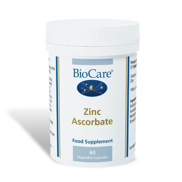 Zinc Ascorbate 60 Capsules