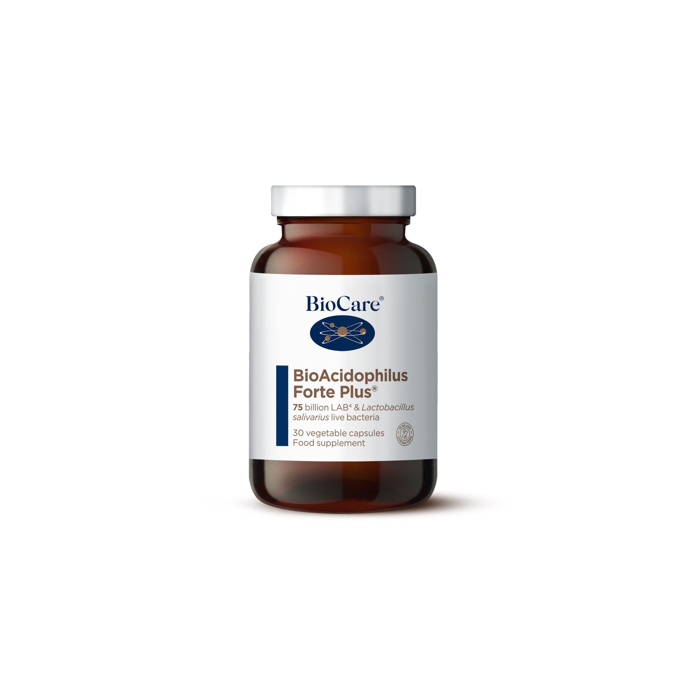 BioAcidophilus Forte Plus 30 Caps
