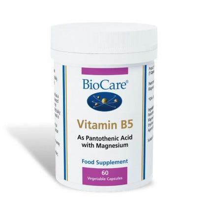 Vitamin B5 60 Capsules