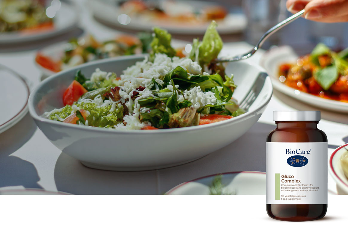 Energy slumps after eating? Support your blood glucose balance