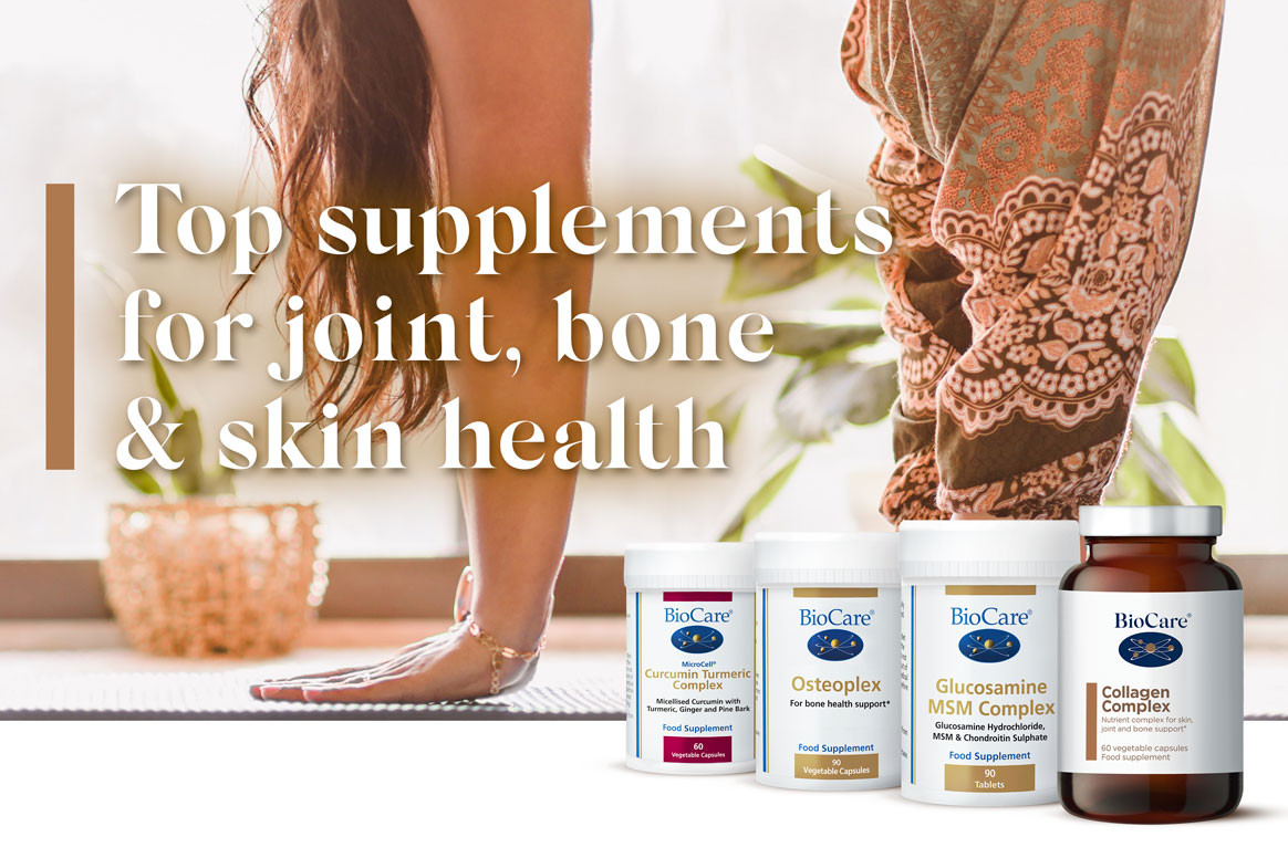 Top supplements for joint, bone & skin health