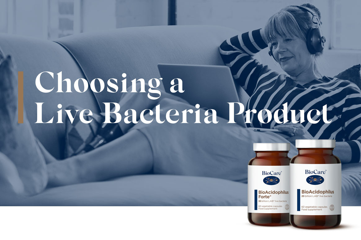 Choosing the right live bacteria product