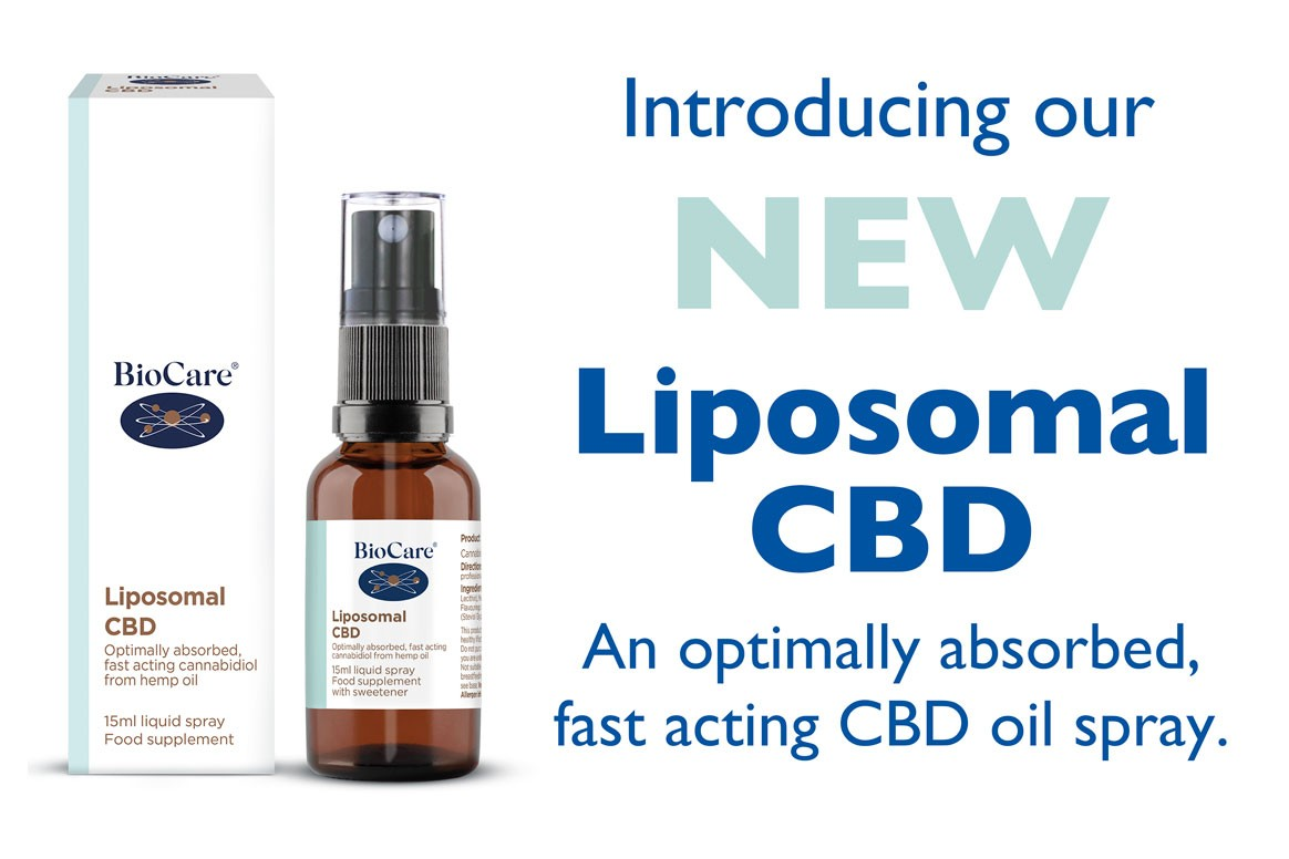 Introducing Our New Liposomal CBD