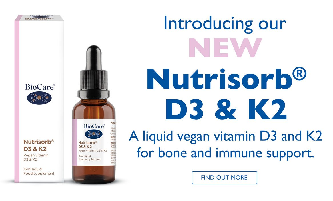 Introducing New Nutrisorb D3 and K2