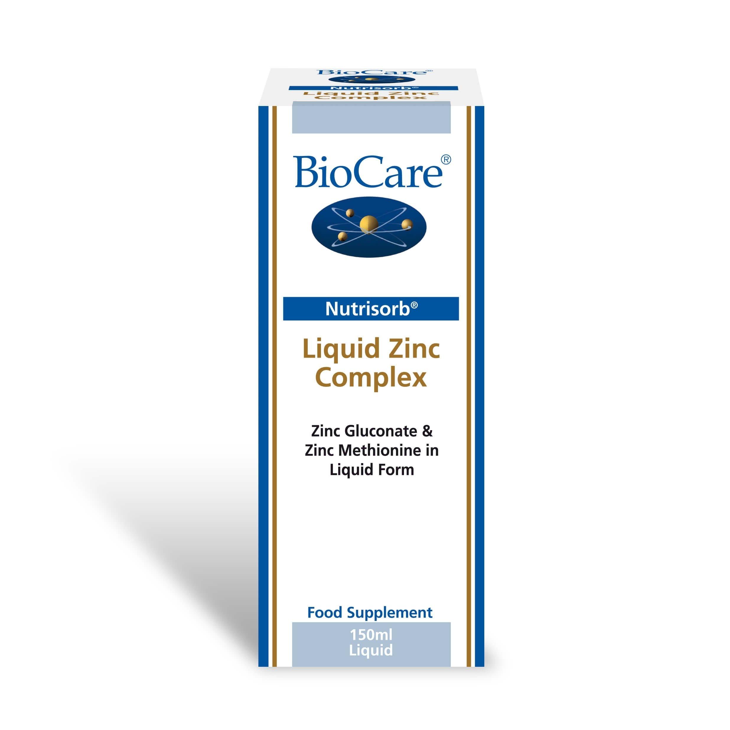 Nutrisorb Liquid Zinc Complex