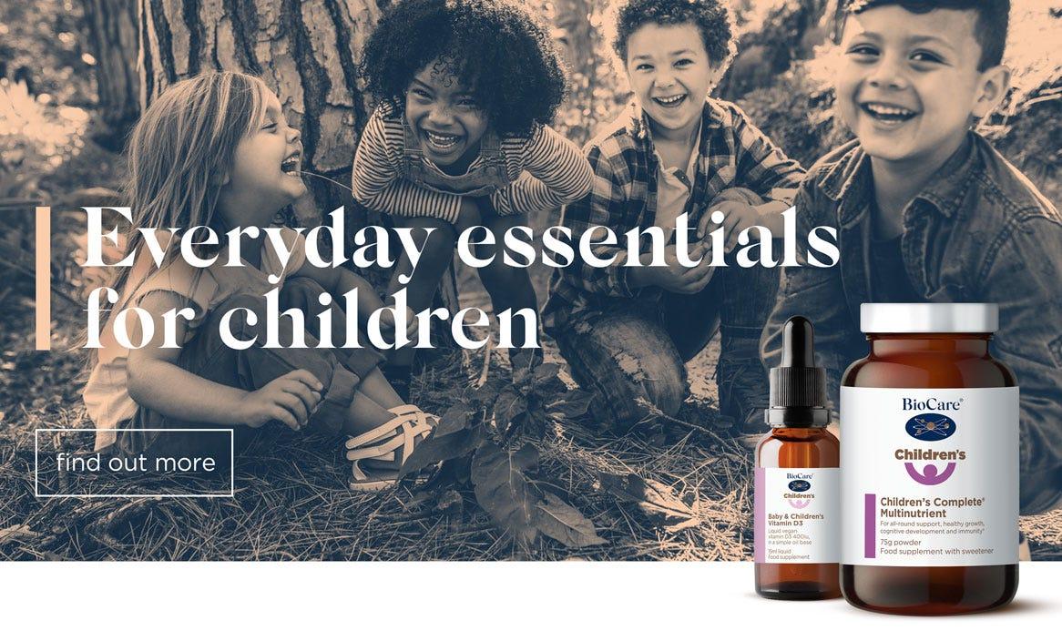 Everyday essentials for children