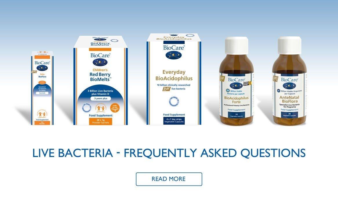 Live Bacteria - FAQ