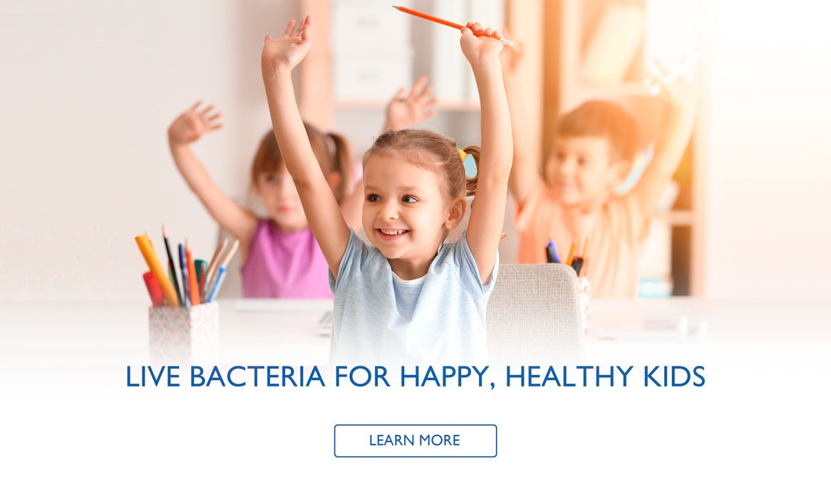 Live Bacteria For Happy, Healthy Kids
