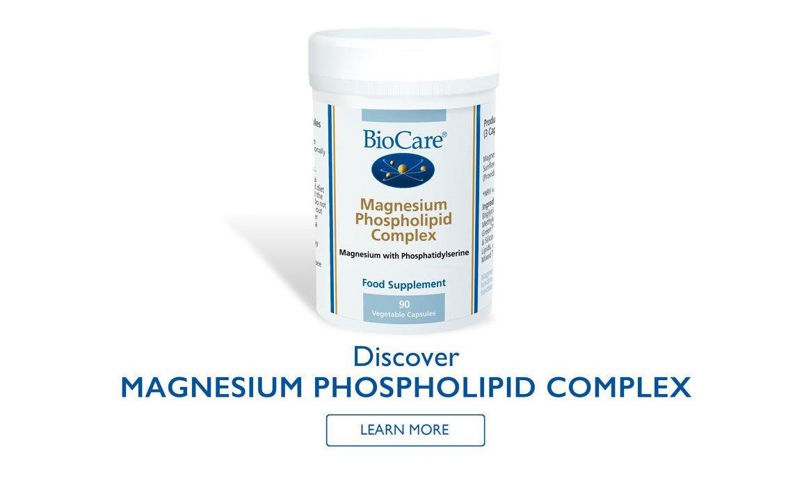 Discover Magnesium Phospholipid Complex