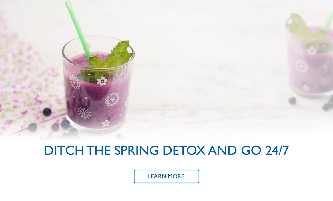 Spring Detox blog