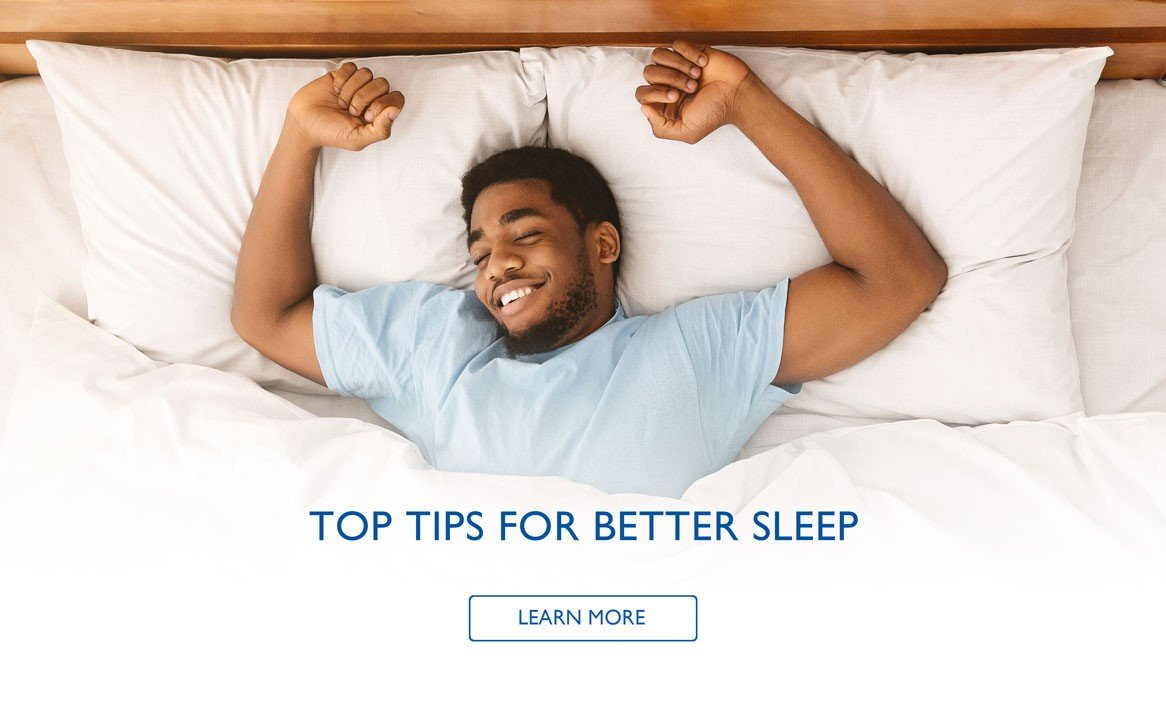 Top Tips For Better Sleep