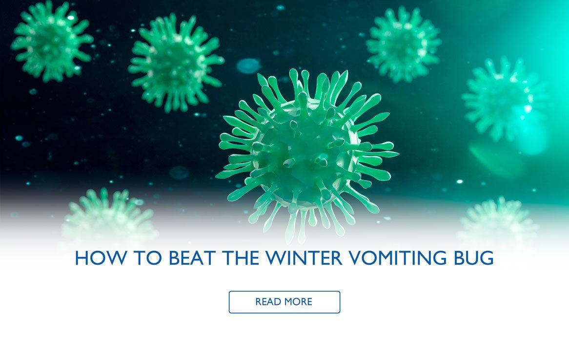 How To Beat The Winter Vomiting Bug