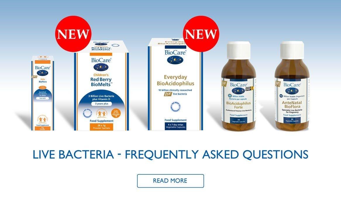 Live Bacteria FAQs