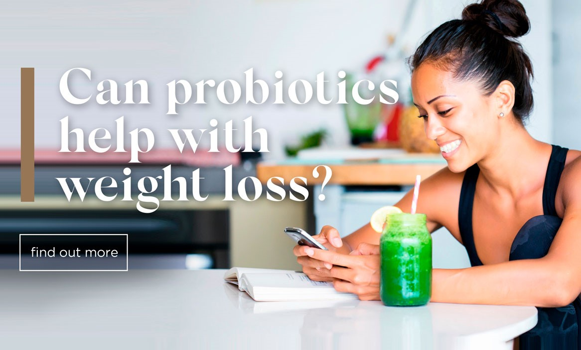 Can probiotics help with weight loss